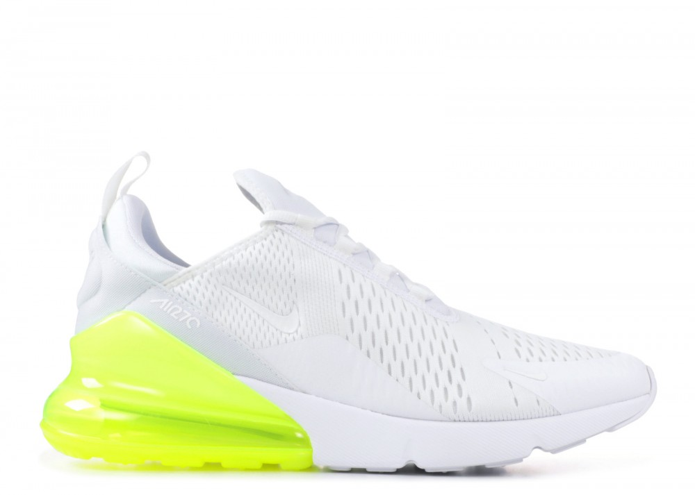nike air max 270 wit blauw