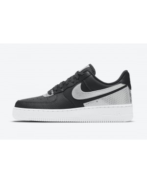 CT1992-001 3M x Nike Air Force 1 Low - Zwart/Zilver-Metallic Zilver