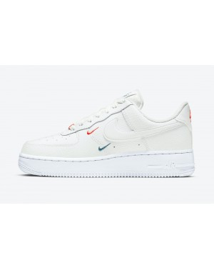 CT1989-101 Nike Air Force 1 Low - Wit/Wit-Rood