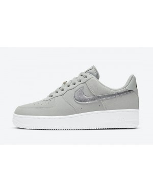 DC4458-001 Nike Air Force 1 Low Schoenen - Grijs/Metallic Silver