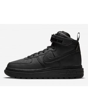 DA0418-001 Nike Air Force 1 High Winter Heren - Zwart/Zwart-Zwart
