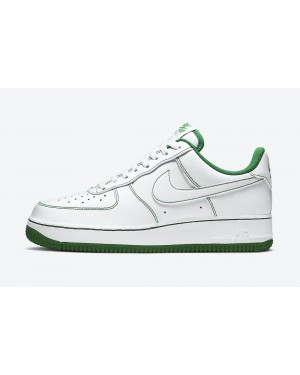 CV1724-103 Nike Air Force 1 Low - Wit/Wit-Groen