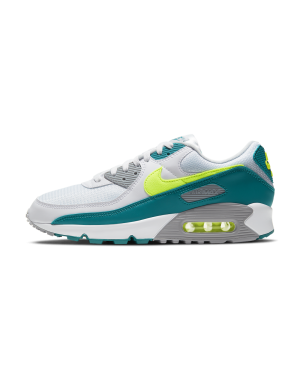 CZ2908-100 Nike Air Max 90 - Wit/Hot Lime-Spruce-Grijs