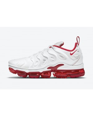 "DH0279-100 Nike Air VaporMax Plus ""Cherry"" - Wit/Wit-Rood"