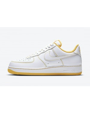CV1724-102 Nike Air Force 1 Low - Wit/Wit-Oranje