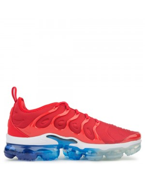 924453-601 Nike Heren Air Vapormax Plus - Rood/Wit/Blauw