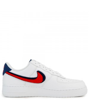 823511-106 Nike Air Force 1 '07 Lv8 - Wit/Rood/Blauw