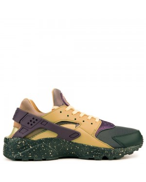 704830-012 Nike Air Huarache Run Premium - Anthracite/Paars/Goud