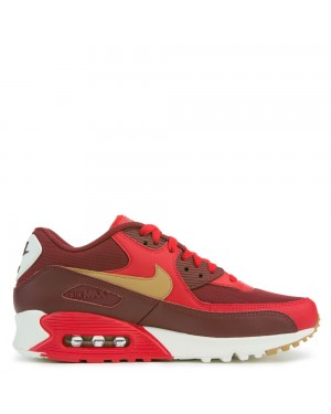 537384-607 Nike Air Max 90 Essential - Game Rood/Goud/Sail