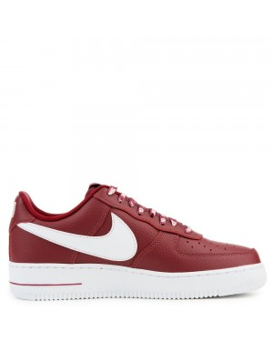 823511-605 Nike Air Force 1 '07 LV8 Schoenen - Rood/Wit