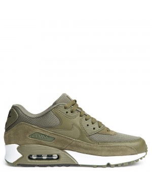 537384-201 Heren Nike Air Max 90 Essential - Olive/Bruin