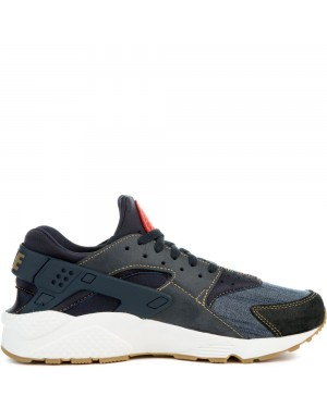 852628-403 Nike Air Huarache Run SE - Obsidian/Wit