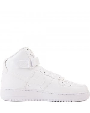 315121-115 Heren Nike Air Force 1 High '07 Schoenen - Wit/Wit