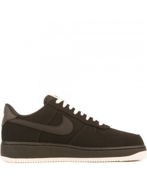 820266-017 Heren Nike Air Force 1 Schoenen - Zwart/Sail