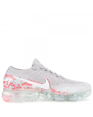 AH8448-001 Nike Air Vapormax Flyknit - Grijs/Wit/Hot Punch