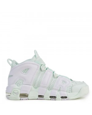 917593-300 Nike Air More UPTEMPO - Barely Groen/Wit
