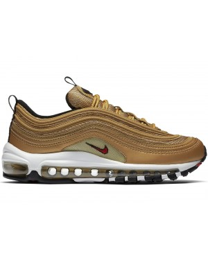 Nike Air Max 97 Dames Metallic Goud/Rood-Wit 885691-700