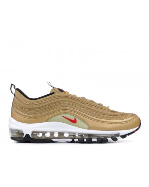 Nike Air Max 97 QS Dames Metallic Goud/Rood 918890-700