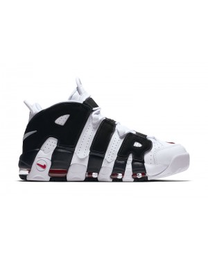 "Nike Air More Uptempo ""Scottie Pippen"" PE Wit/Zwart-Rood 414962-105"