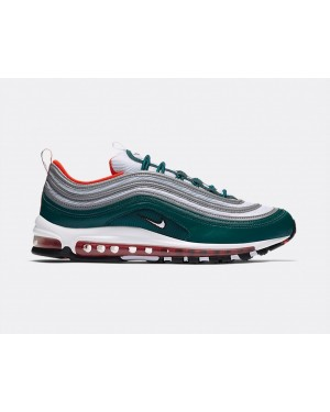 921826-300 Nike Air Max 97 - Rainforest/Wit-Oranje-Zwart