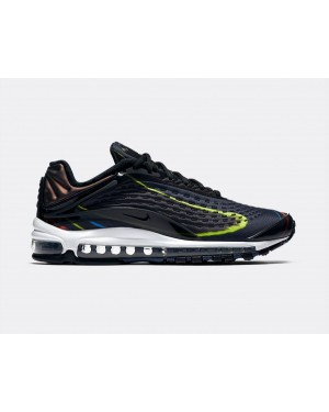 AJ7831-001 Nike Air Max Deluxe - Zwart/Midnight Navy-Zilver