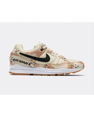 AO1546-200 Nike Air Span II Premium - Beach/Zwart-Praline-Light Cream