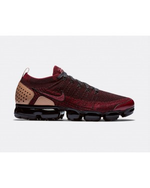 AT8955-600 Nike Air Vapormax FK 2 NRG - Rood/Zwart-Vachetta Tan