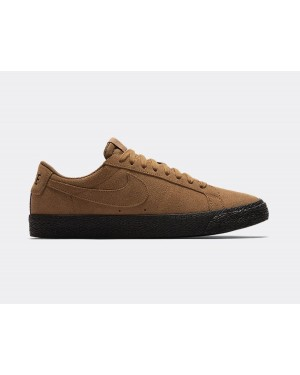 864347-200 Nike SB Zoom Blazer Low - Light British Tan/Zwart