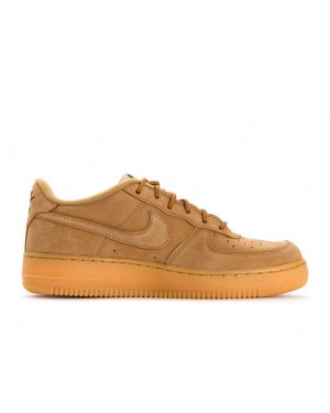 943312-200 Nike Air Force 1 Winter Premium GS - Flax/Flax-Groen-Geel