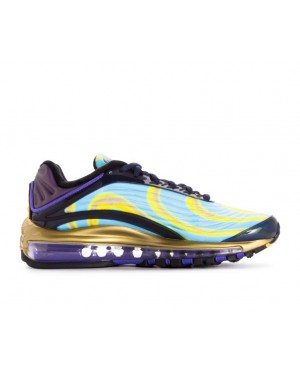 AQ1272-400 Nike Dames Air Max Deluxe - Midnight Navy/Oranje