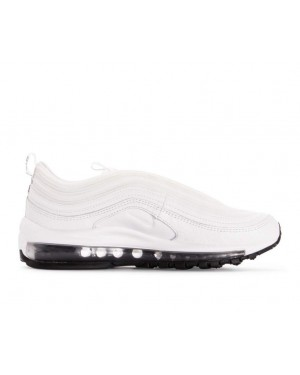AQ8760-100 Nike Dames Air Max 97 Leather - Wit/Wit-Zwart
