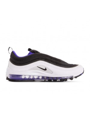 921826-103 Nike Air Max 97 - Wit/Zwart-Persian Violet