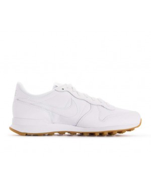 828407-103 Nike Dames Internationalist - Wit/Wit-Bruin