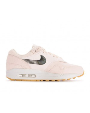 454746-800 Nike Dames Air Max 1 Schoenen - Guava Ice/Guava Ice-Geel