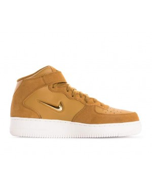 804609-200 Nike Air Force 1 Mid 07 Lv8 - Muted Bronze/Metallic Gold-Wit