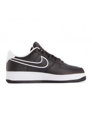 AJ7280-001 Nike Air Force 1 07 Leather Schoenen - Zwart/Wit