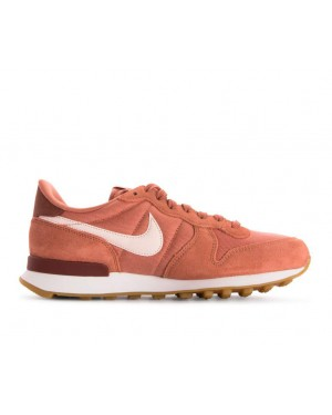 828407-210 Nike Dames Internationalist Schoenen - Terra Blush/Guava Ice-Wit
