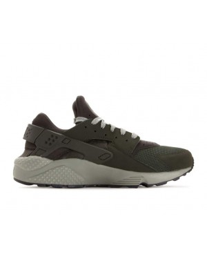 318429-311 Nike Air Huarache Schoenen - Sequoia/Dark Stucco/Zwart