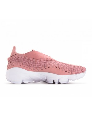 917698-602 Nike Dames Air Footscape Woven - Roze/Roze/Wit