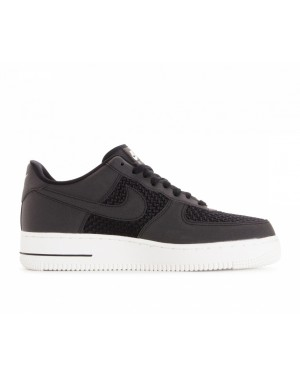 AQ8624-001 Nike Air Force 1 Low Schoenen - Zwart/Zwart-Sail