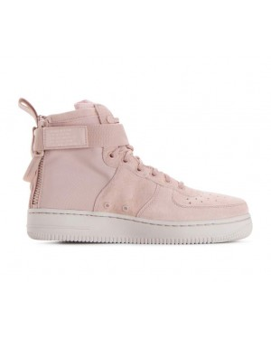 AA3966-201 Nike Dames Sf Air Force 1 Mid - Beige/Beige