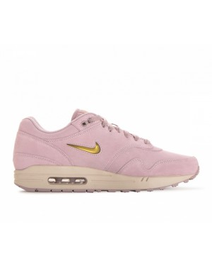 918354-601 Nike Air Max 1 Premium SC - Particle Rose/Metallic Gold-Desert Sand