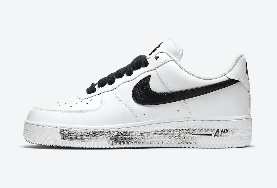 "DD3223-100 PEACEMINUSONE x Nike Air Force 1 ""Para-Noise 2.0"" - Wit/Zwart-Wit"
