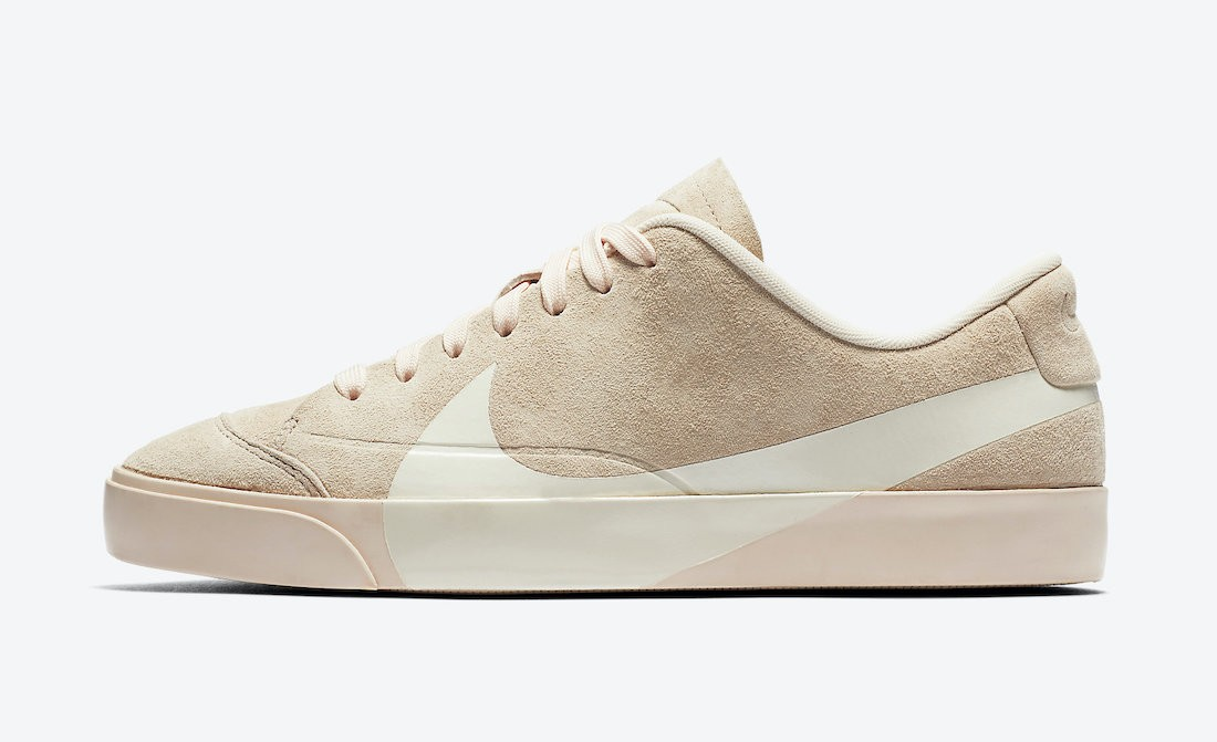 AV2253-800 Nike Dames Blazer City Low Schoenen - Guava Ice/Sail