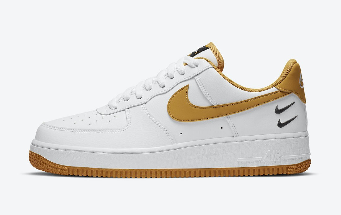 CT2300-100 Nike Air Force 1 Low Schoenen - Wit/Wheat-Gum