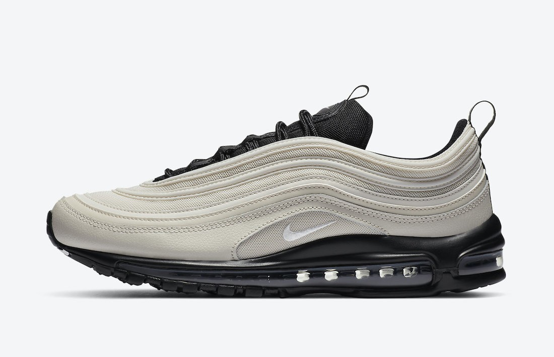 DH0861-100 Nike Air Max 97 Schoenen - Light Bone/Zwart