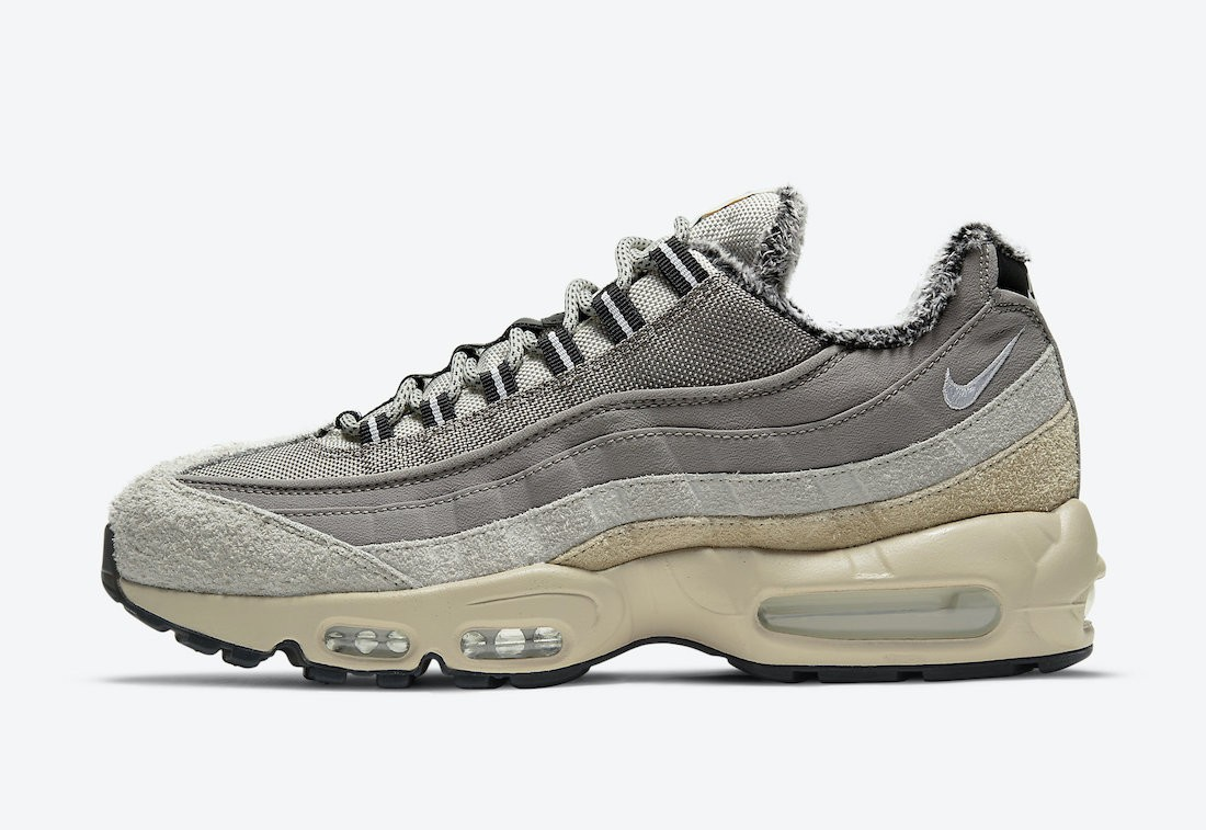 """DC8099-016 Nike Air Max 95 SE """"Wild"""" Heren - Enigma Stone/Wit-Oatmeal"""
