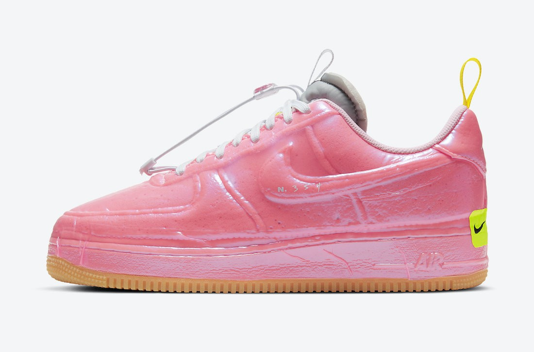CV1754-600 Nike Air Force 1 Low Experimental - Roze/Arctic Punch-Geel