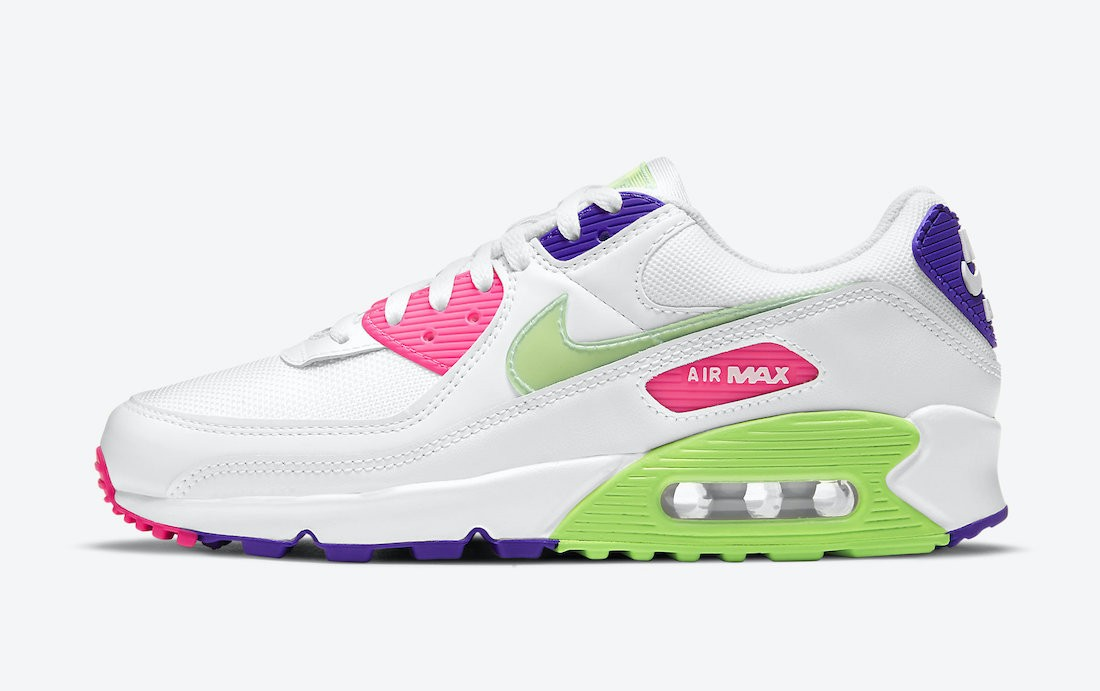 DH0250-100 Nike Air Max 90 Schoenen - Wit/Wit