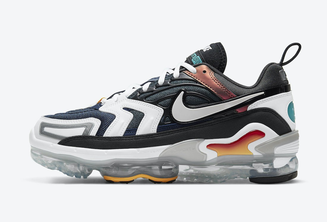 """CT2868-001 Nike Air VaporMax EVO """"Evolution of Icons"""" - Anthracite/Grijs-Navy"""